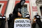 pikieta anarchistów Poznań