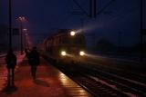 pociąg opad