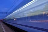 pociąg długi czas naświetlania