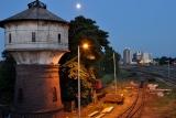 wieża kolejowa ciśnień