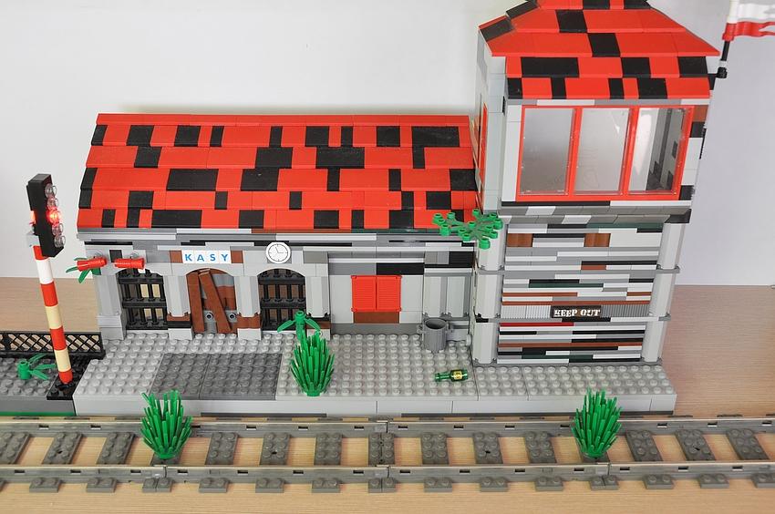 lego dworzec