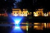 iluminacja fontanny