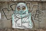 graffiti mur poznań