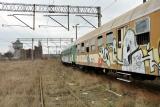 graffiti wagony pkp ZNTK POZNAŃ