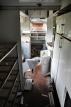 opuszczone wagony bezdomni