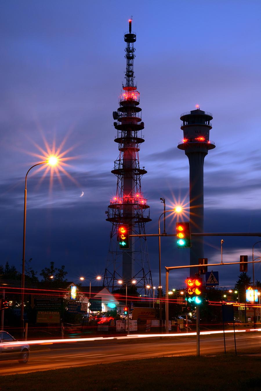Wieża RTV Piątkowo Poznań