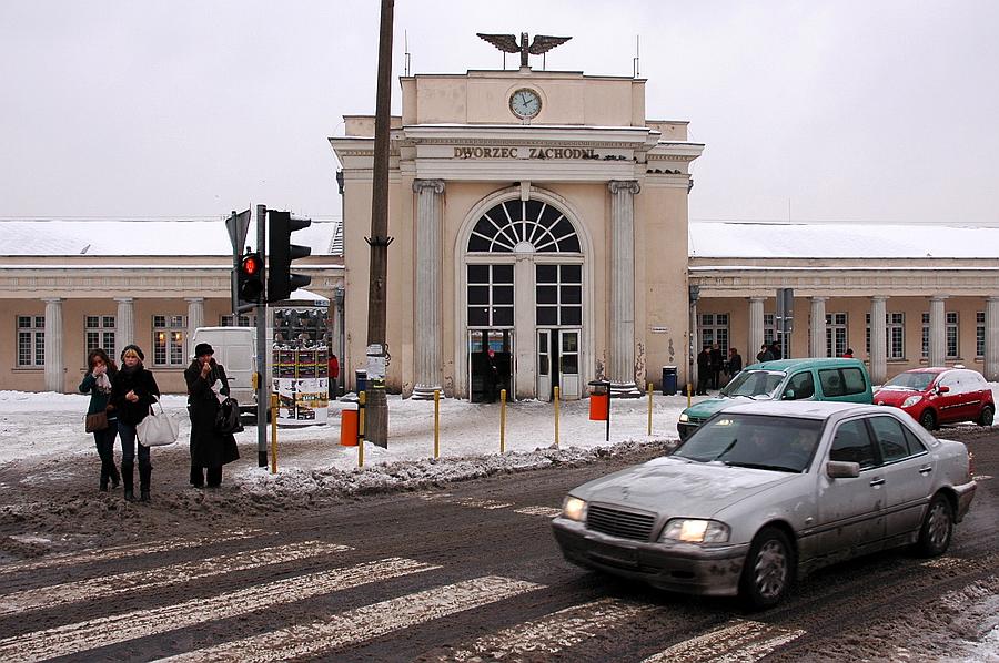 dworzec zachodni Poznań