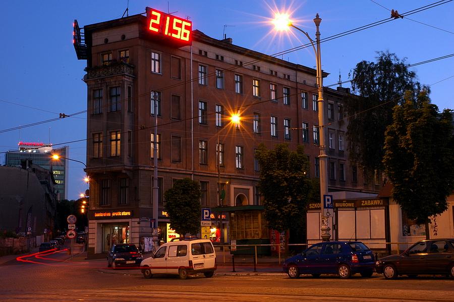 zegar-neon poznań