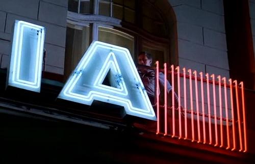 neon polonia
