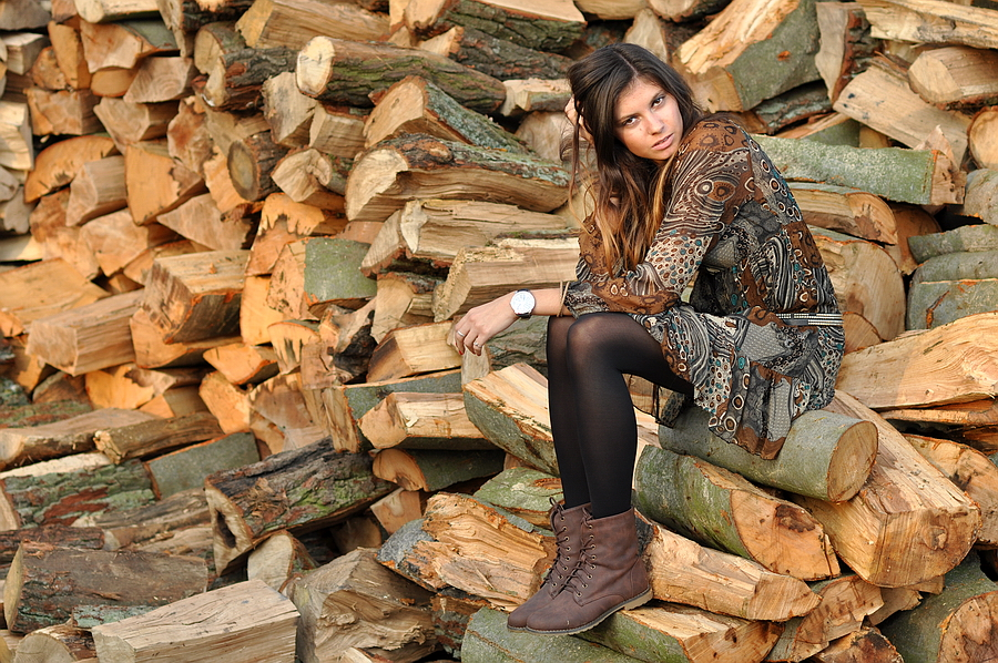 Agata drewno
