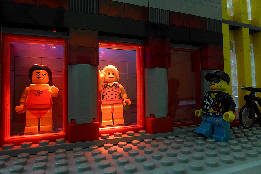 Lego Amsterdam Red Light