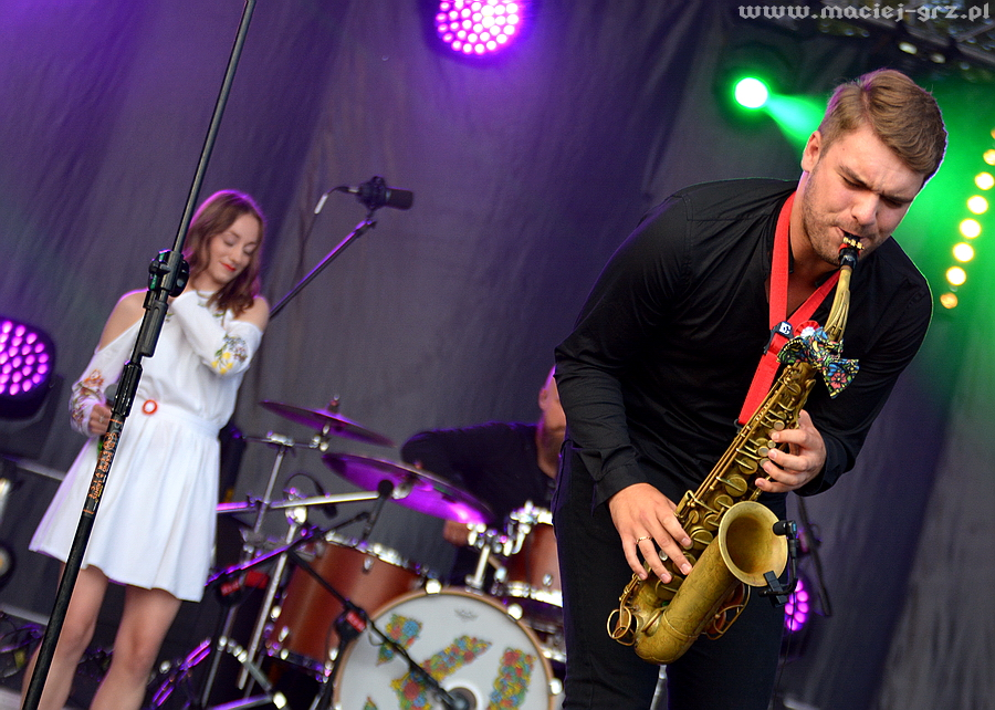 Dawid Tokłowicz saksofon