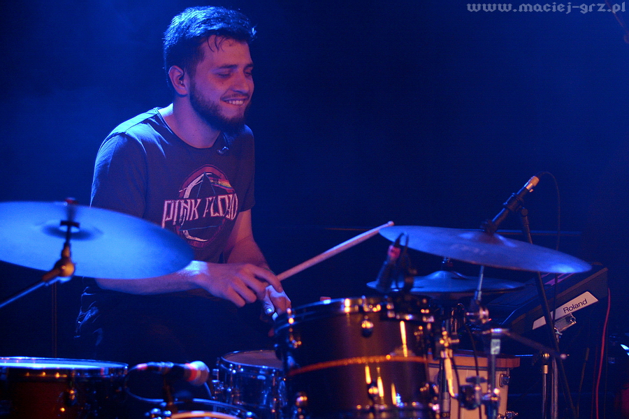 Tomasz Mańkowski perkusja