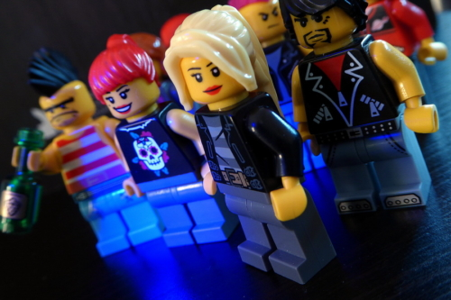 LEGO ROCK MUSIC FANS